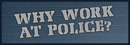 Why work at police