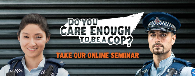 Welcome to the New Cops online seminar